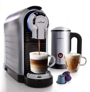 NutriChef Espresso Coffee Machine & Cappuccino Maker