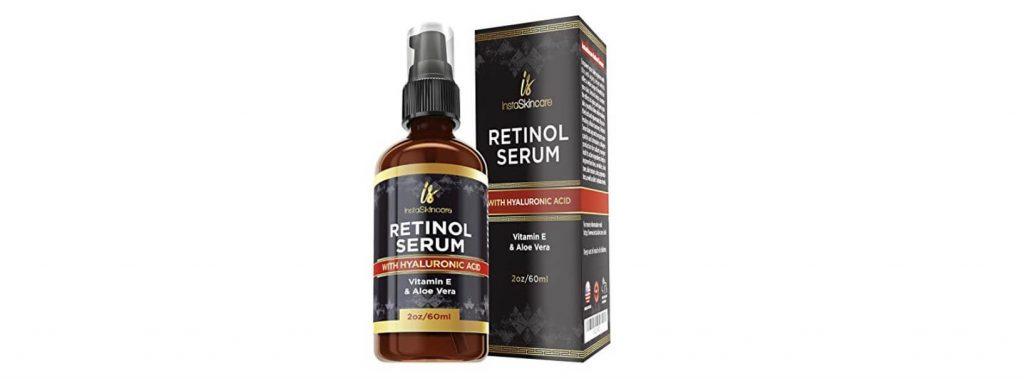 InstaSkincare Retinol Serum w/ Hyaluronic Acid