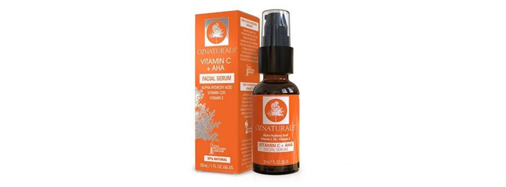 OZNaturals Vitamin C and AHA Serum