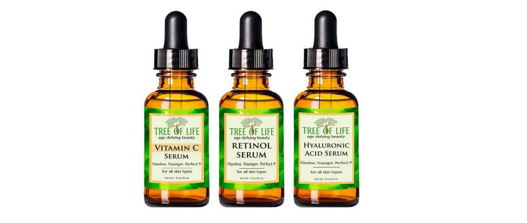 Tree of Life anti-aging serum 3-pack