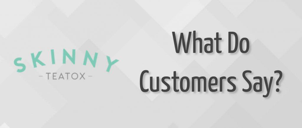 O que os clientes do Skinny Teatox dizem?