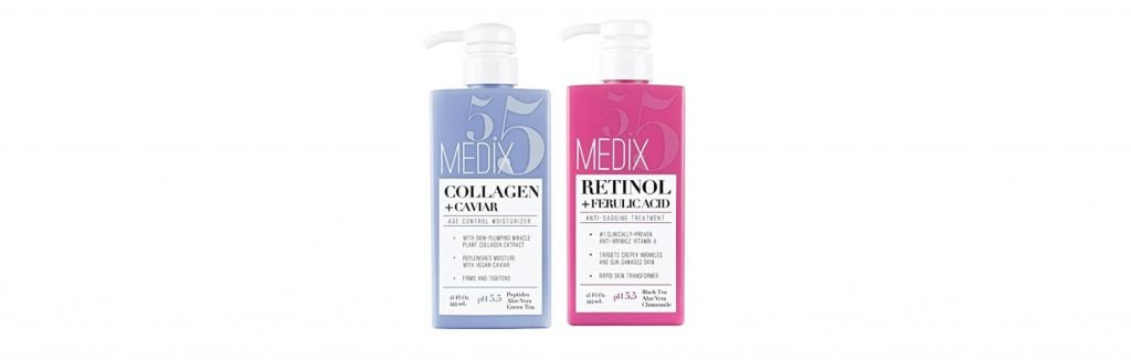 Medix 5 collagen and retinol set