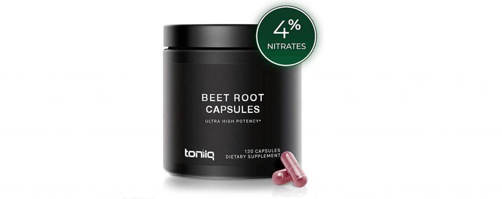 Toniiq beet root capsules