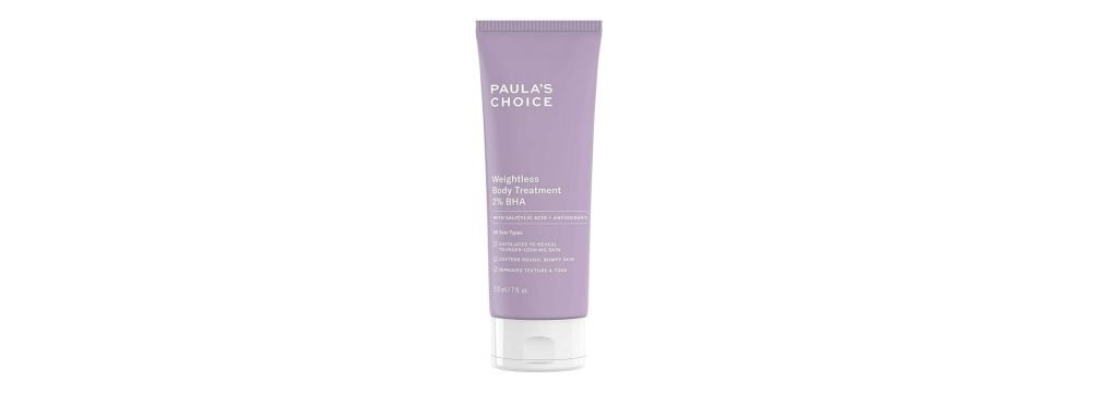 Paula's Choice weightless body treatment